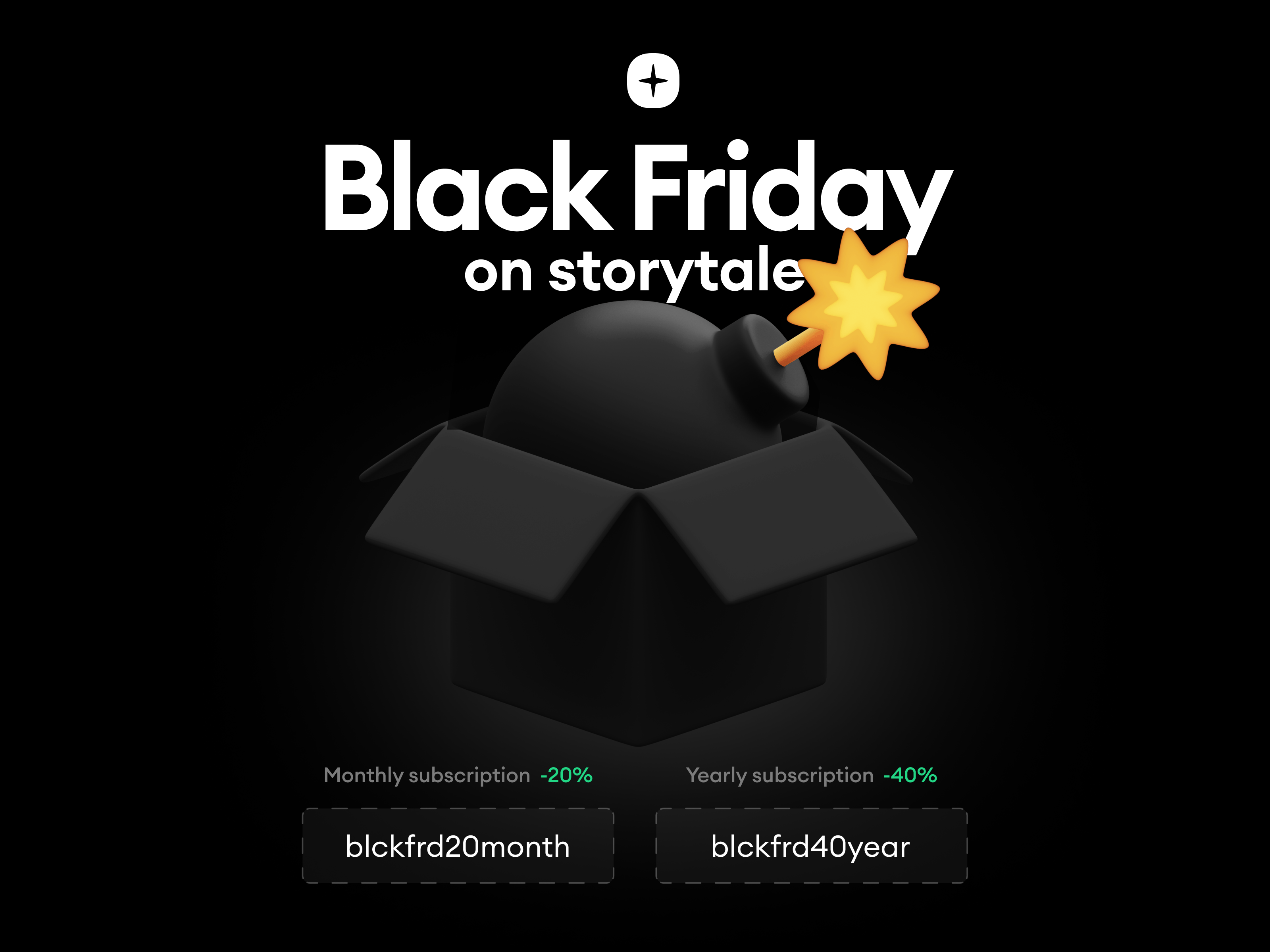 Storytale Black Friday Sale